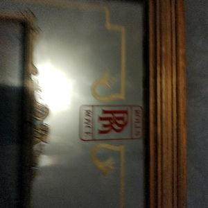 Photo frame of rolls Royce mirror and glass photo